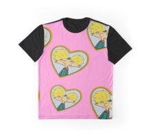 Hey Arnold locket Graphic T-Shirt