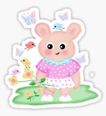 children's drawing Sticker