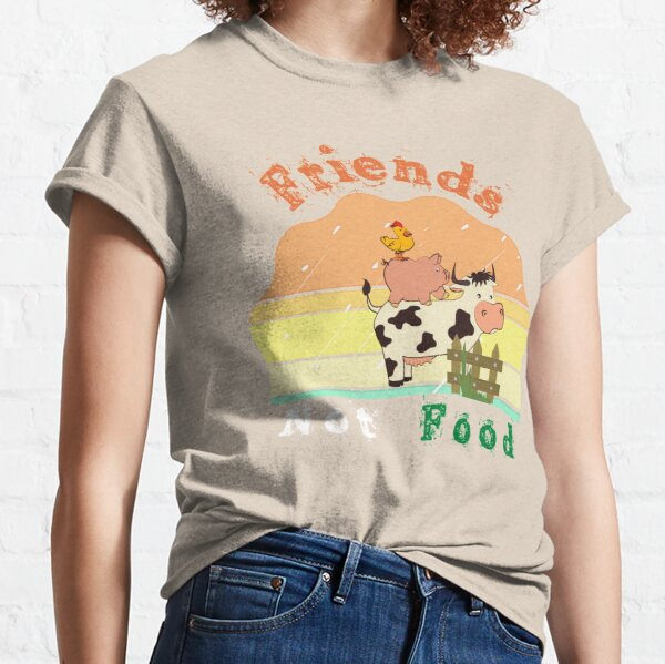 Friends not food . Classic T-Shirt