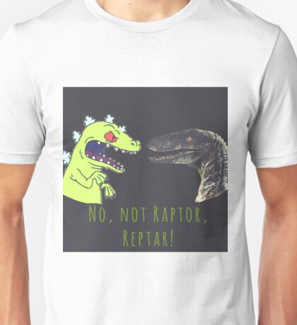 Raptor and Reptar Unisex T-Shirt