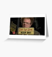 dr steve brule cool guy zone Greeting Card