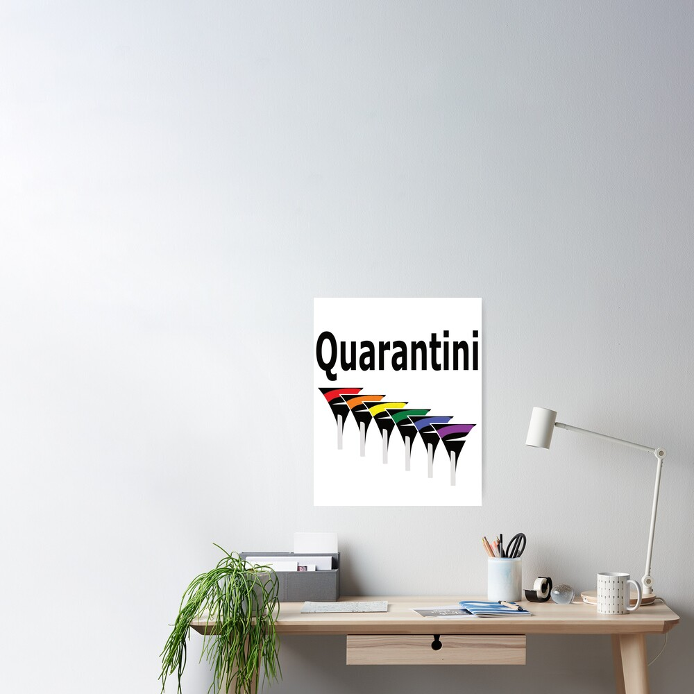 LGBT Quarantini Poster