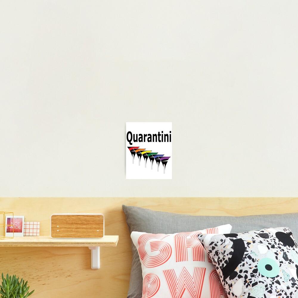 LGBT Quarantini Photographic Print