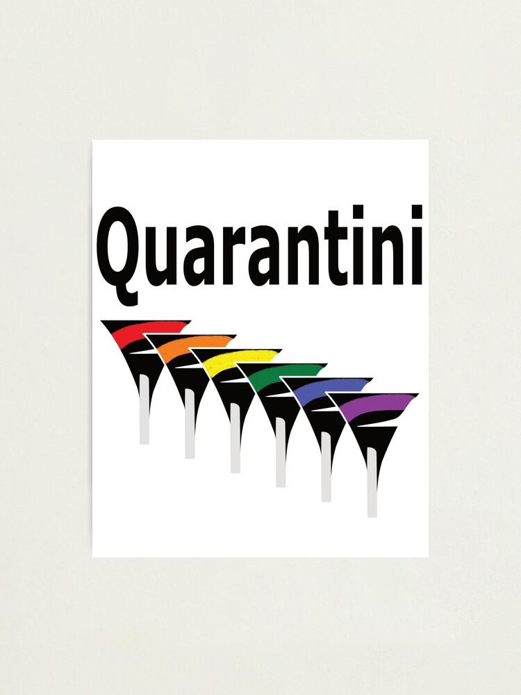 Alternate view of LGBT Quarantini Photographic Print