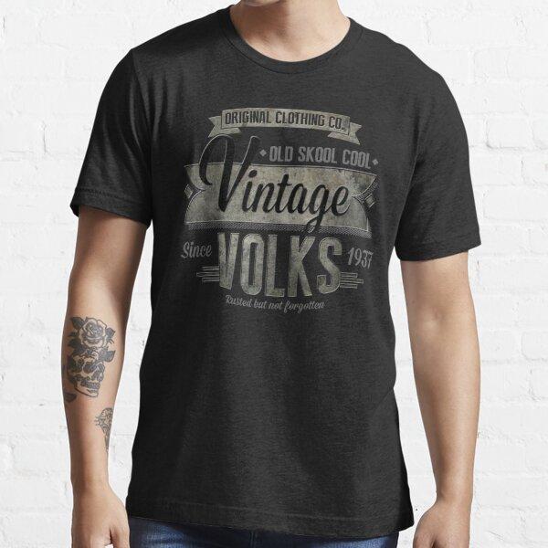 NUEVA camiseta vintage de hombre Camiseta esencial