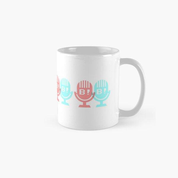 Beware! The Radio • 3D MICROPHONES Classic Mug