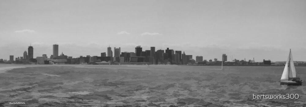 A Boston View 90 by bertsworks300