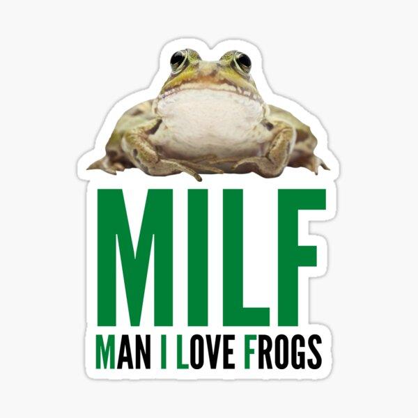 MILF - Homme que j'aime les grenouilles Sticker