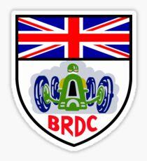 BRITISH RACING DRIVERS CLUB Sticker