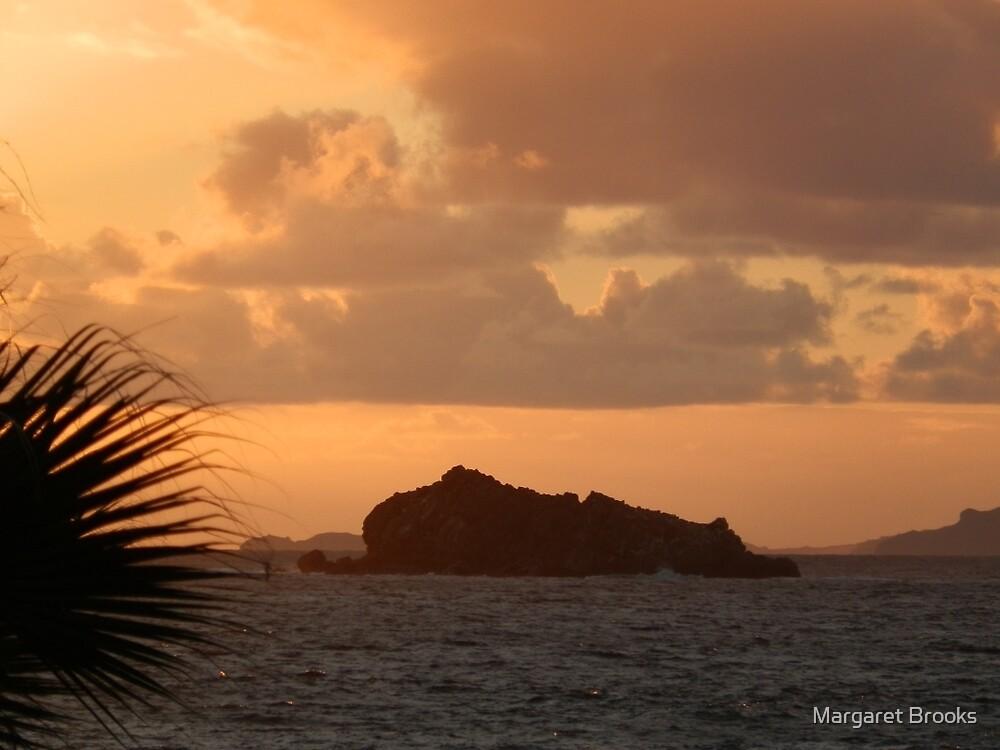 Pelican Key at sunrise by Margaret Brooks
