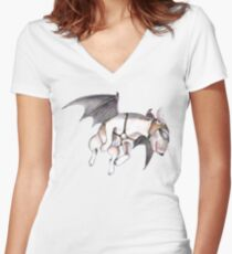 If Pigs Could Fly  Women's Fitted V-Neck T-Shirt