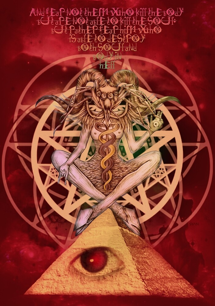 Baphomet VI by SyansAshes