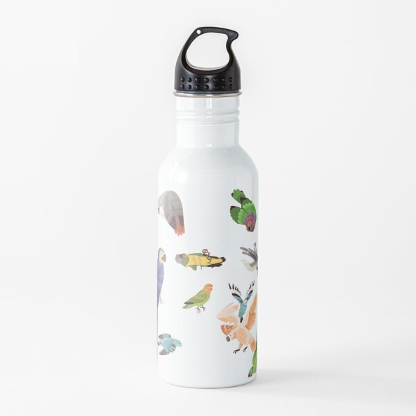 Yes, I Really Do Need All These Parrots Water Bottle