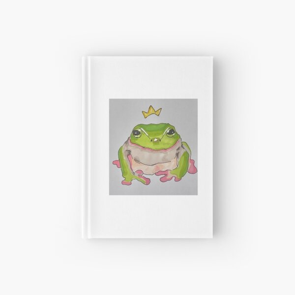 benji the frog prince! Hardcover Journal