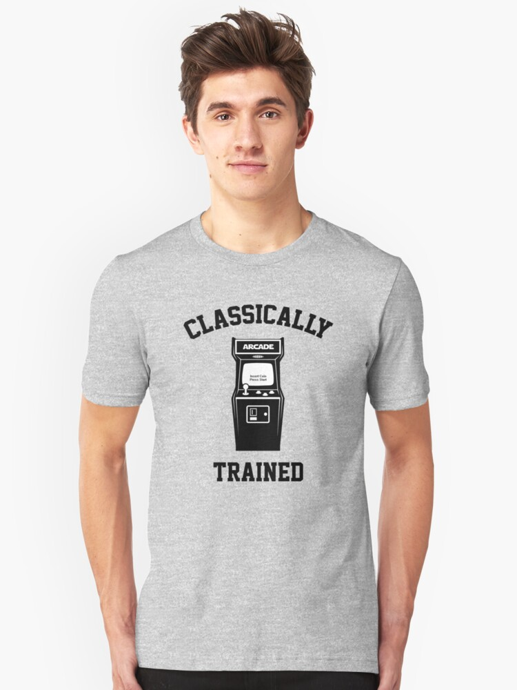 Gamer Classically Trained Unisex T-Shirt Front