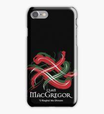 Clan MacGregor  iPhone Case/Skin