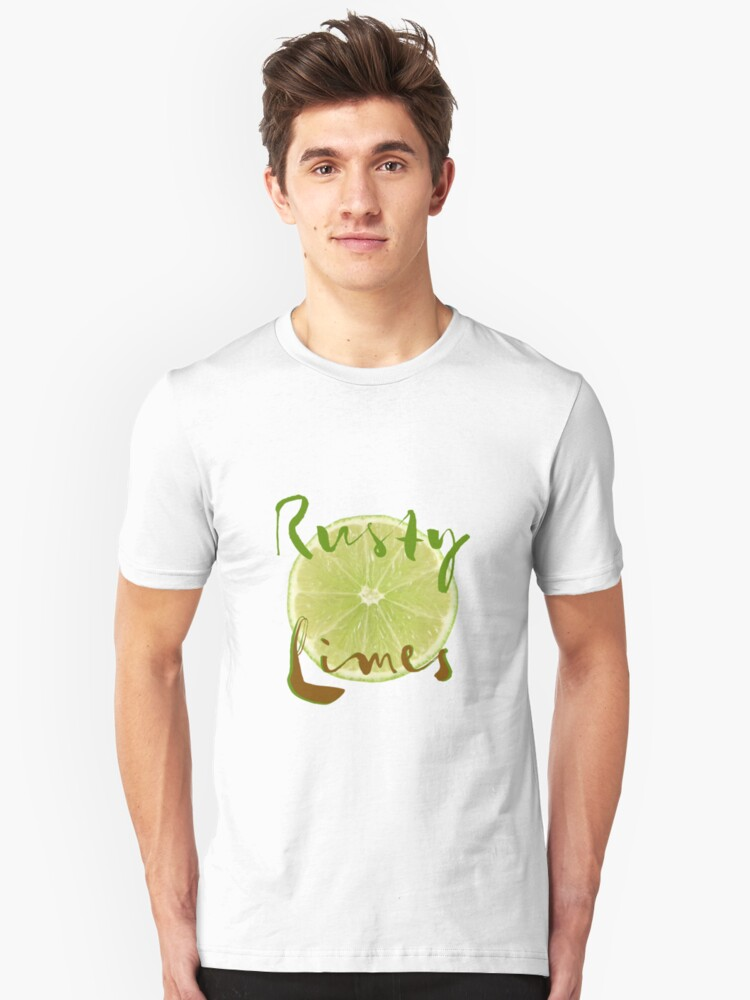 Rusty Limes Unisex T-Shirt Front