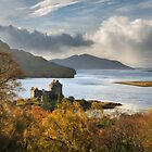 Eilean Donan Castle in Autumn. Highland Scotland. by PhotosEcosse