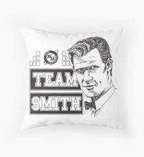 TEAM SMITH Throw Pillow