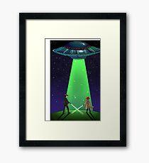 The X-Files / UFO Framed Print