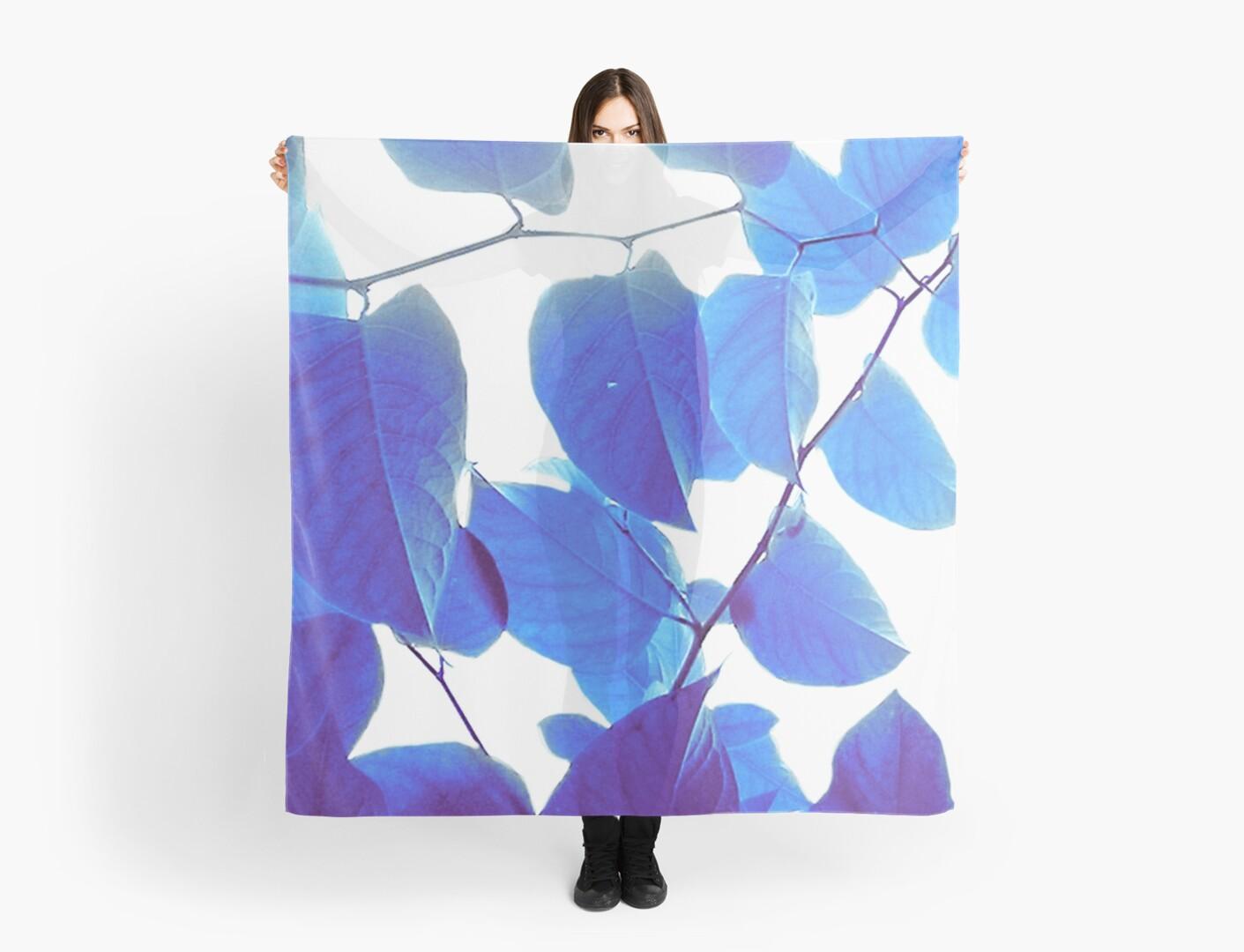 Blue Leaves by zabicanica