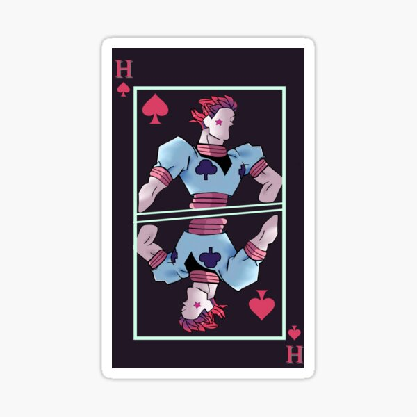 Jester Card Sticker