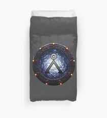Home Gate Duvet Cover