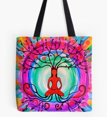 Tree of Mindfulness Tote Bag