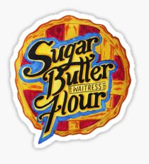 Sugar Butter Flour Sticker