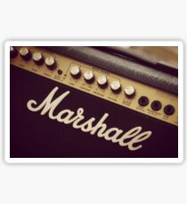 Marshall Amp Sticker