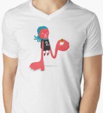 Kawhi Leonard Klaws Men's V-Neck T-Shirt