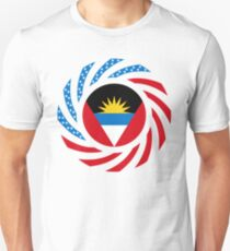 Antigua & Barbuda American Multinational Patriot Flag T-Shirt