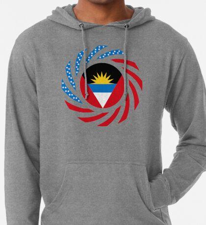 Antigua & Barbuda American Multinational Patriot Flag Lightweight Hoodie