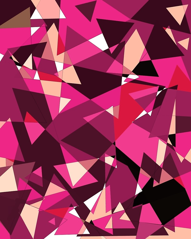 Pink abstract design by Mma by ValentinaHramov
