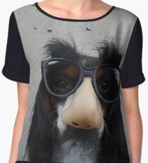 Nosy Dog Women's Chiffon Top