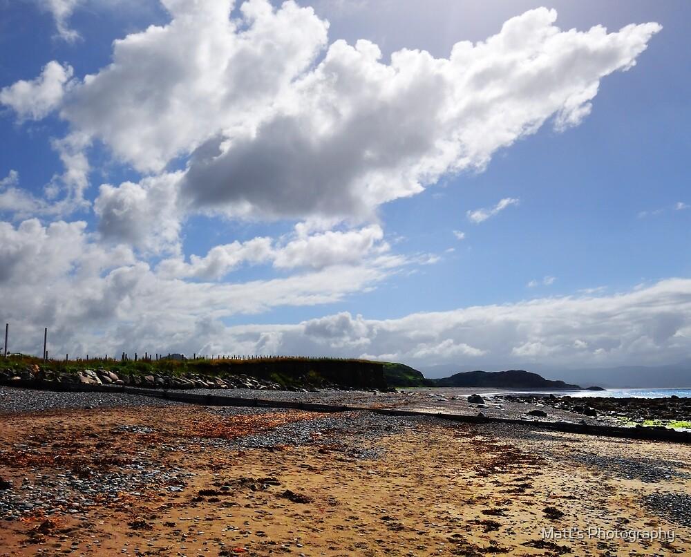 Welsh rocky Beach by Matt's Photography