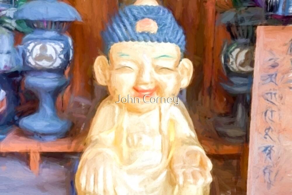 Child Buddha of Happiness by John Corney