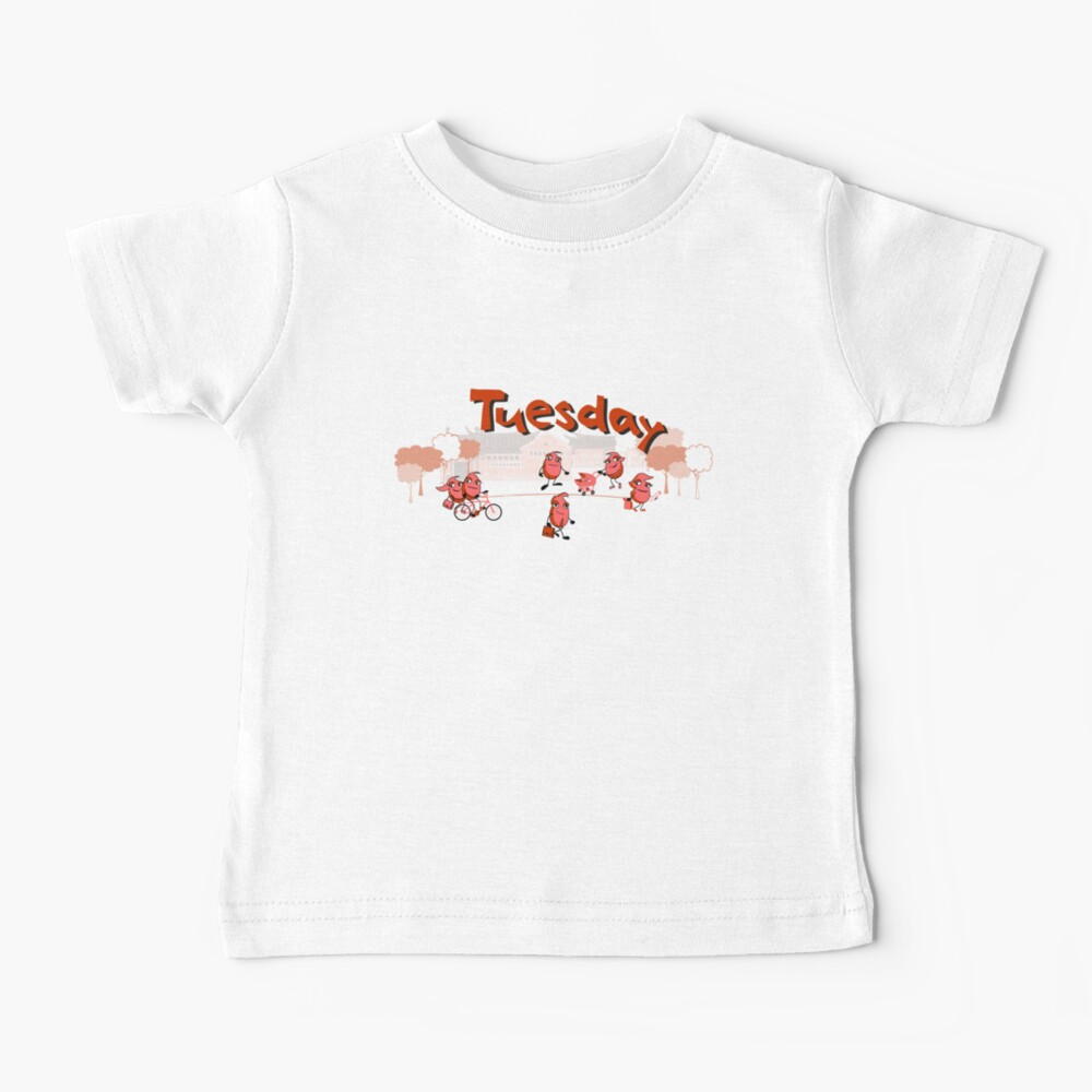 Days of the week - Tuesday Baby T-Shirt
