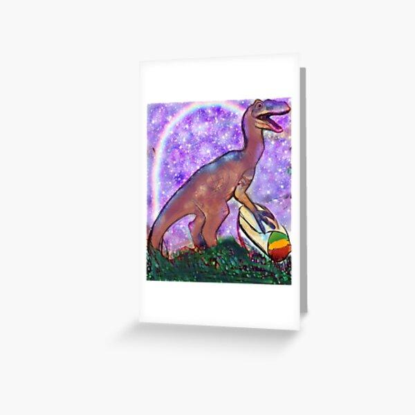 Raptoritto rainbowz oh Greeting Card