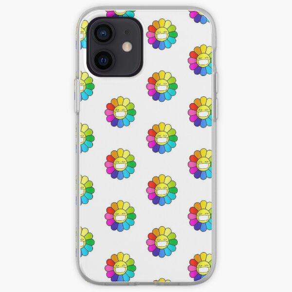 mask flower iPhone Soft Case