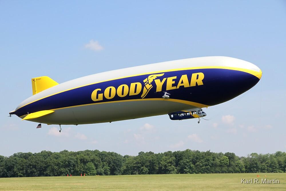 Goodyear Zeppelin NT by Karl R. Martin