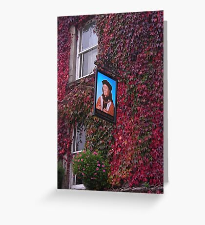 King's Head in autumn. Greeting Card