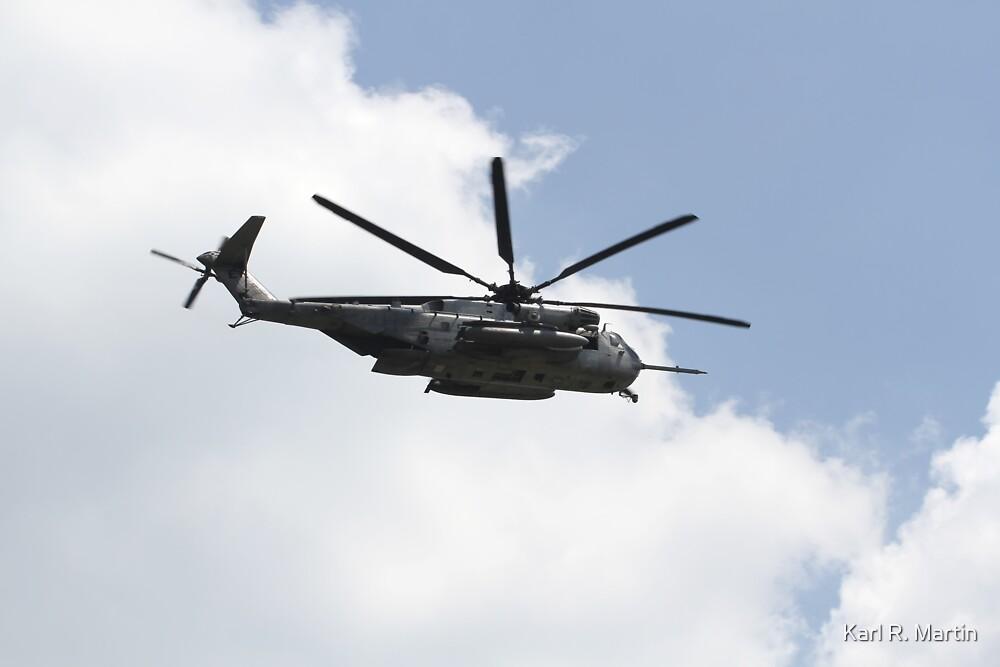 Sikorsky CH-43 Sea Stallion by Karl R. Martin