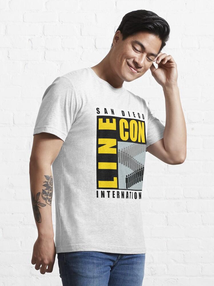 Alternate view of San Diego Line Con International Essential T-Shirt