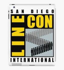 San Diego Line Con International iPad Case/Skin