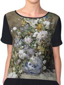 Renoir Auguste - Spring Bouquet Chiffon Top