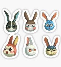 Animal Crossing Rabbits Sticker