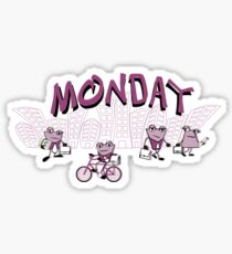Days of the week - Monday Sticker