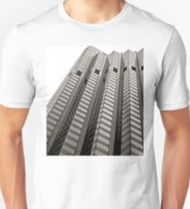 B&W - High Rise Office Building T-Shirt