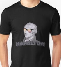 Cool Alexander Hamilton with Sunglasses Unisex T-Shirt